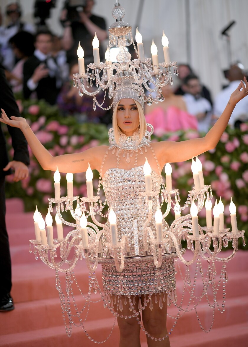 Katy Perry at the 2019 Met Gala. What could be ahead this year, in fashion and in everything else? Obviously, almost anything.