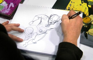 WonderCon: How fast can you draw the Flash?