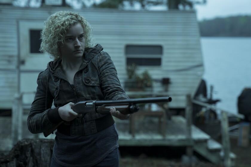"Julia Garner in ""Ozark"" — a big hit with a few quarantined authors, including film critic David Thomson."