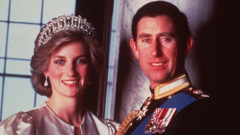 Prince Charles and Princess Diana in 1985.
