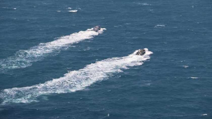 Navy boats released by Iran