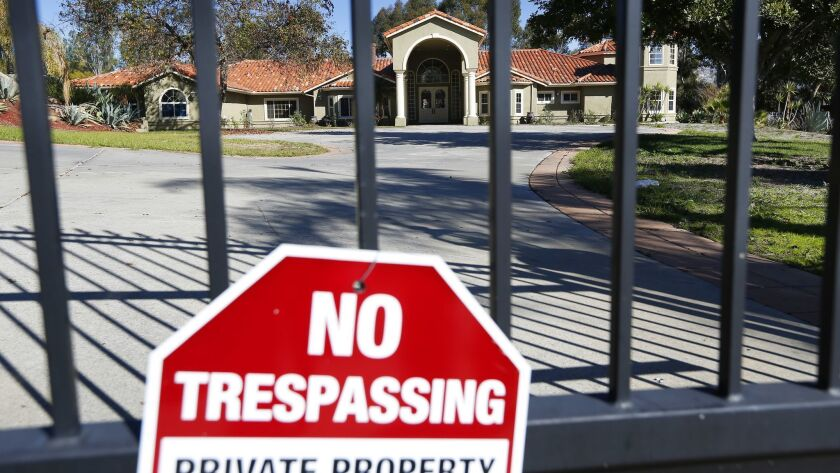 The Poway, Calif., house where the late San Diego Padres great Tony Gwynn lived until his death in 2014 was foreclosed upon in June. Authorities are investigating whether a squatter has been living in the home over the past couple of months.