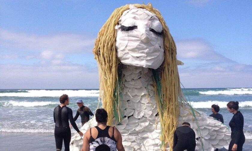 """Seafoam Sleepwalk"" takes to the surf in a trial run."