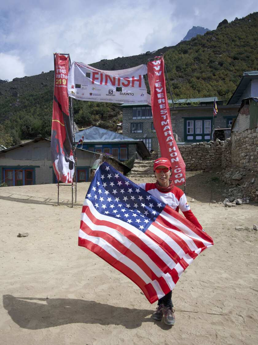 Vivian Lee completes Everest Extreme Ultra race in Nepal
