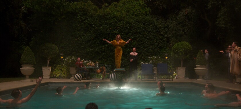 """Hollywood"" re-creates a raucous George Cukor bash."