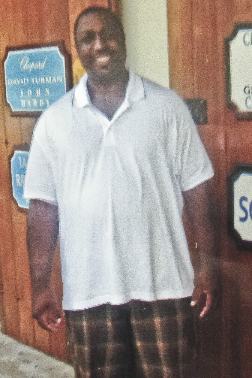 FILE- In this undated family file photo provided by the National Action Network, Saturday, July 19, 2014, Eric Garner is shown. Garner's death was ruled a homicide by the New York City medical examiner after it was determined that a choke hold police used while trying to arrest him in July 2014, caused his death. (AP Photo/Family photo via National Action Network, File)