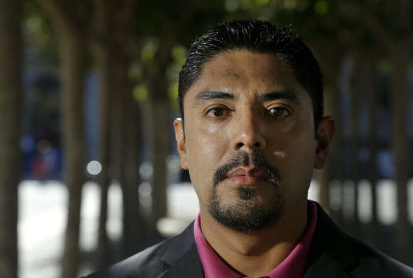 """Sergio Garcia arrived in Northern California illegally 20 years ago and and has been there since. """"There is absolutely no doubt that I will be a practicing attorney in California one day,"""" he says."""