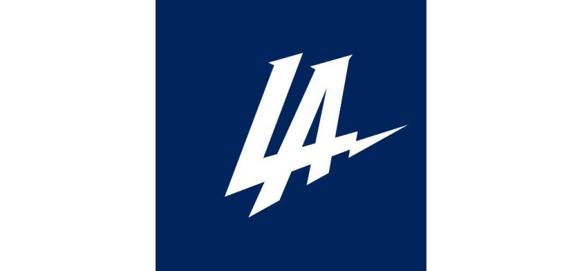 The new logo for the Los Angeles Chargers, formerly of San Diego.