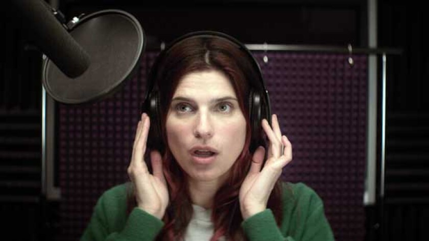 """Lake Bell in the movie """"In a World ..."""""""