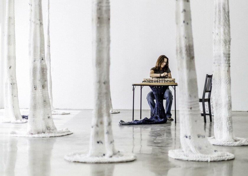 Michelle Montjoy in her studio.