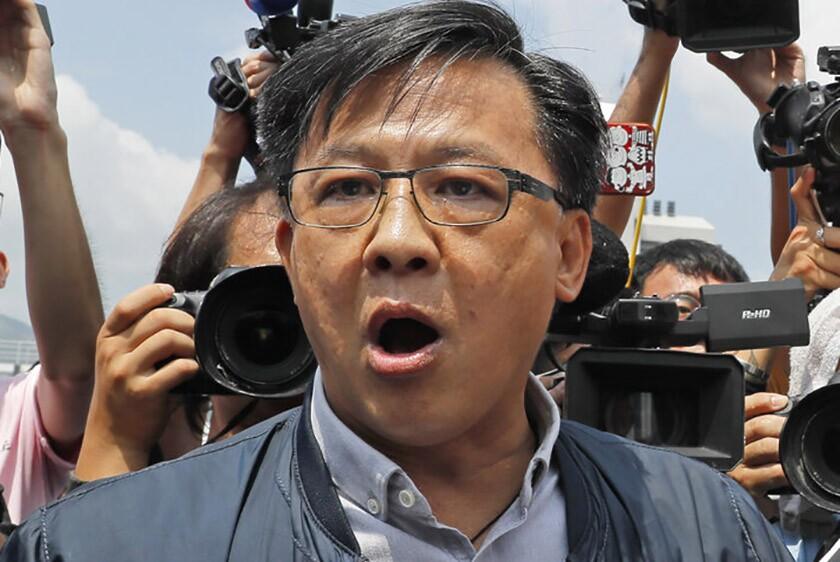 Hong Kong lawmaker Junius Ho