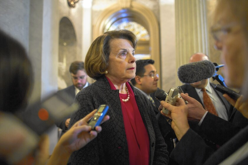 Democratic Sen. Dianne Feinstein won't be up for reelection until 2018, but some are already pondering potential candidates -- and potential challengers.