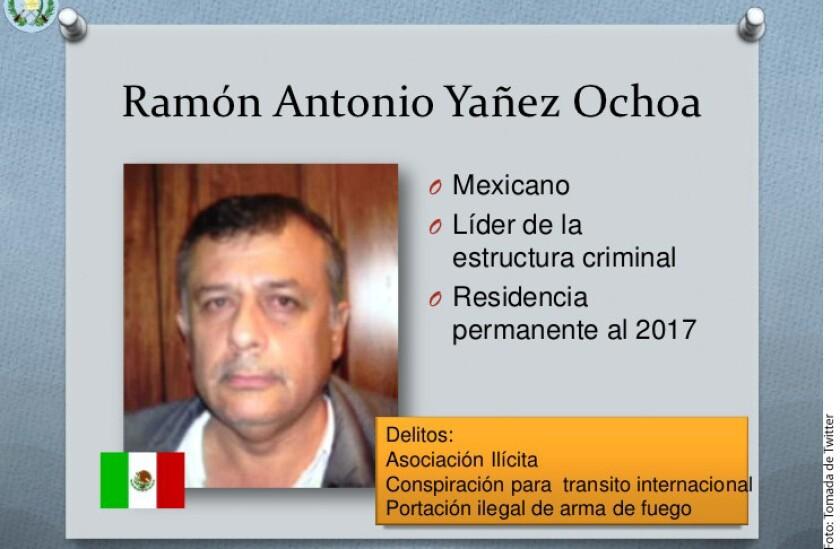 Las autoridades de Guatemala dieron a conocer que el capo mexicano Ramón Antonio Yáñez Ochoa, condenado por narcotráfico, escapó de prisión utilizando una orden de libertad falsa.