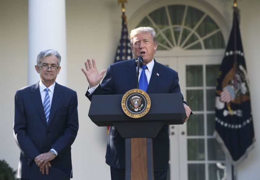 President Trump introduces Jerome Powell