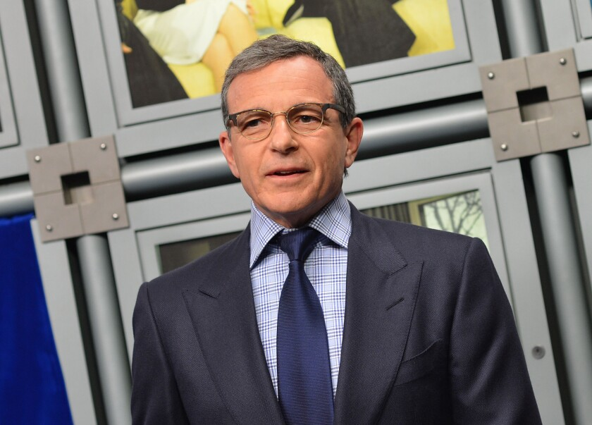 Longtime CEO Bob Iger, seen in 2014, transformed not only Disney but all of Hollywood.