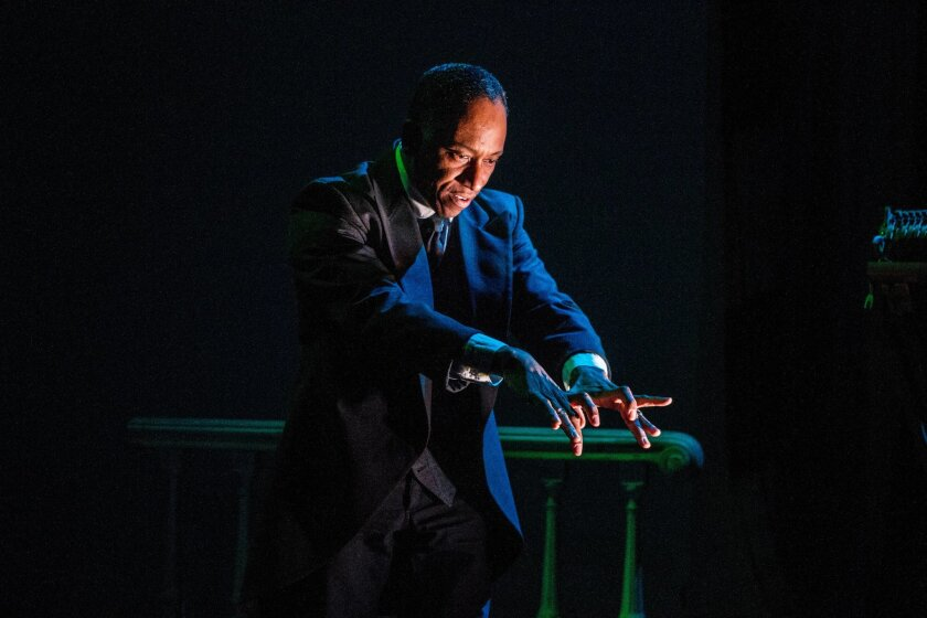 "Robert Barry Fleming in Mo'olelo Performing Arts Company's ""Scott Joplin's New Rag."" CREDIT: Daren Scott"