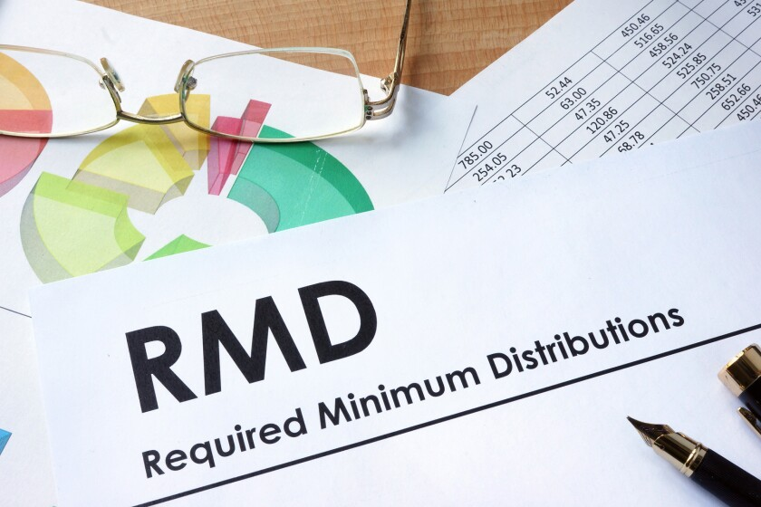 Final RMDs will have to be taken before heirs inherit the money.