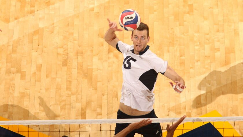 Matt Younggren, UC Irvine men's volleyball