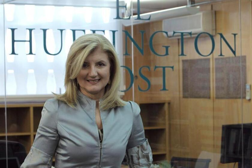 Lydia Polgreen, hasta ahora editora de The New York Times, será la nueva máxima responsable de The Huffington Post, un puesto en el que sustituye a la fundadora Arianna Huffington, que dejó la empresa el pasado agosto. EFE/ARCHIVO