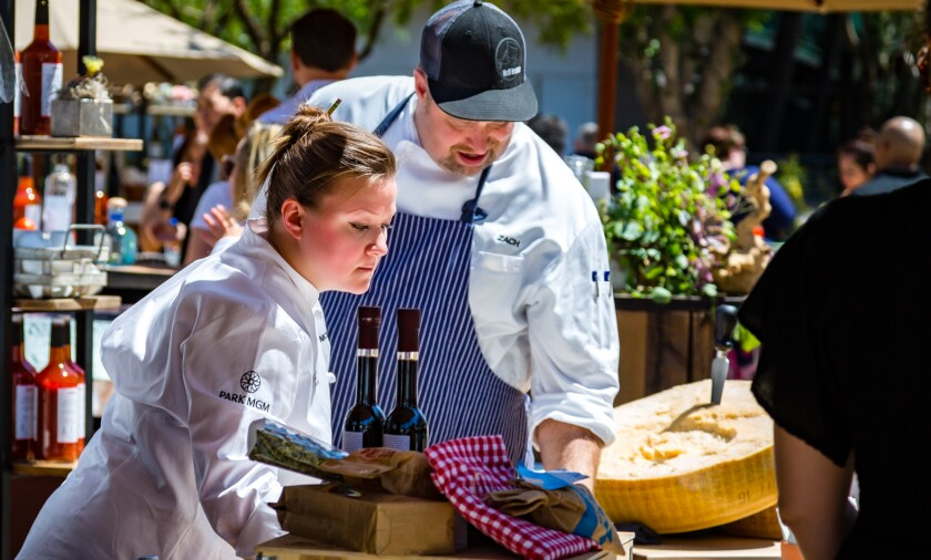 Nicole Brisson, former Eataly Las Vegas chef with her own restaurant called Locale, will participate in the Las Vegas food event Picnic in the Alley.