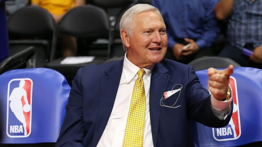 Jerry West in 2015.