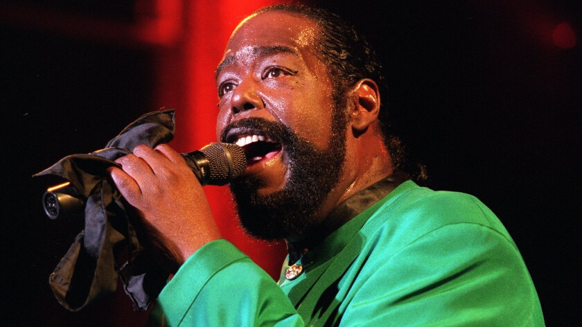Barry White at the Greek Theatre.