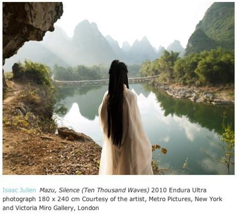 'Mazu, Silence (Ten Thousand Waves)' by Isaac Julien Courtesy of Isaac Julien, Metro Pictures and Victoria Miro Gallery