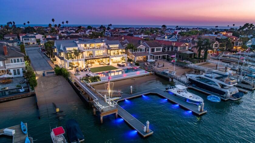 Jared Smith's Newport Harbor mansion