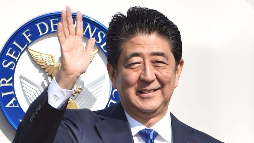 Image result for Japan Prime Minister
