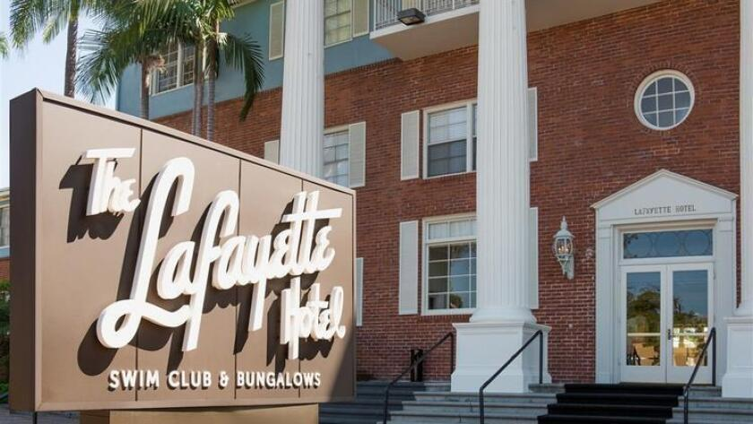On July 1, 1946, The Lafayette Hotel opened doors in North Parkfrom former car dealer and developer Larry Imig. The grand colonial-style hotel quickly became a celebrity hideaway and vacation resort for stars like Bob Hope and Ava Gardner. Now, the hotel is celebrating 70 years of magic, with multiple rooms to dance, drink and dine in all night long. Guests are encouraged to bring something small to contribute to the time capsule, which will be reopened in 30 years. 6 to 10 p.m. Friday. The Lafayette Hotel, 2223 El Cajon Blvd., North Park. Free to attend. lafayettehotelsd.com (/ Courtesy photo)