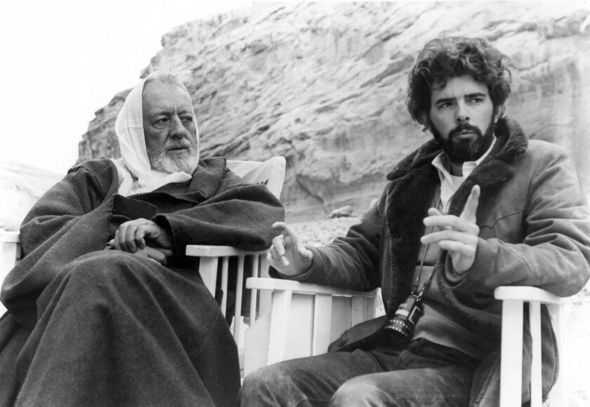 40-year-old George Lucas interview predicts 'Star Wars'' future with Disney - Los Angeles Times