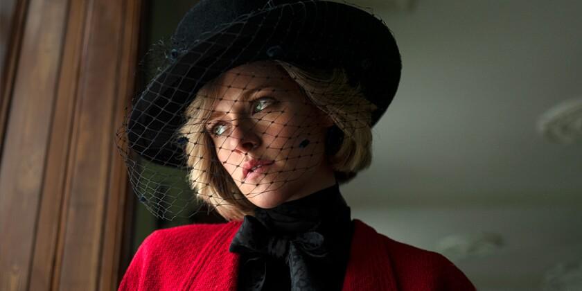 Kristen Stewart as Princess Diana in Pablo Larraín's 'Spencer.'