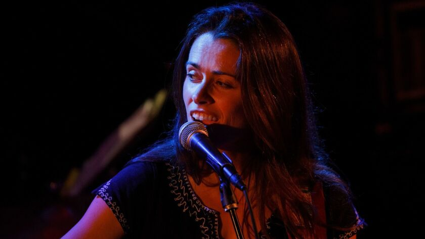 Caitlin Cainty performs during a tribute to John Prine at The Troubadour on Saturday, February 9, 20