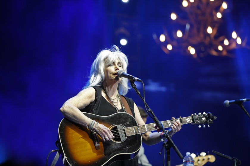 INDIO, CA -- FRIDAY, APRIL 29, 2016: Emmylou Harris performs on the Palomino Stage on the first da