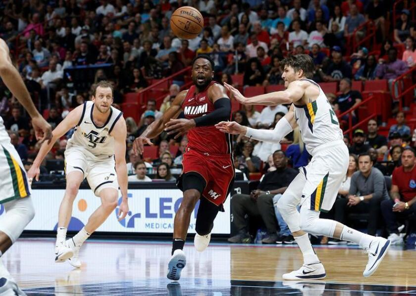 102-100. Wade, con tiros de personal, da la victoria a los Heat; Rubio, 23 puntos
