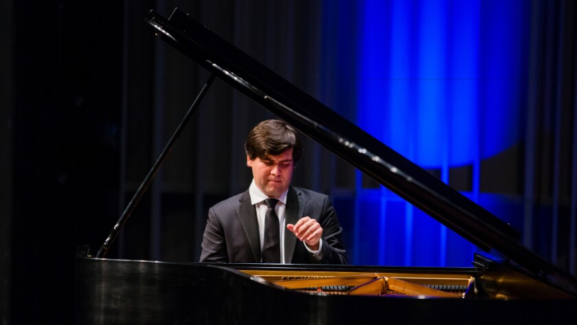 Vadym Kholodenko performs a recital Saturday at the Valley Performing Arts Center