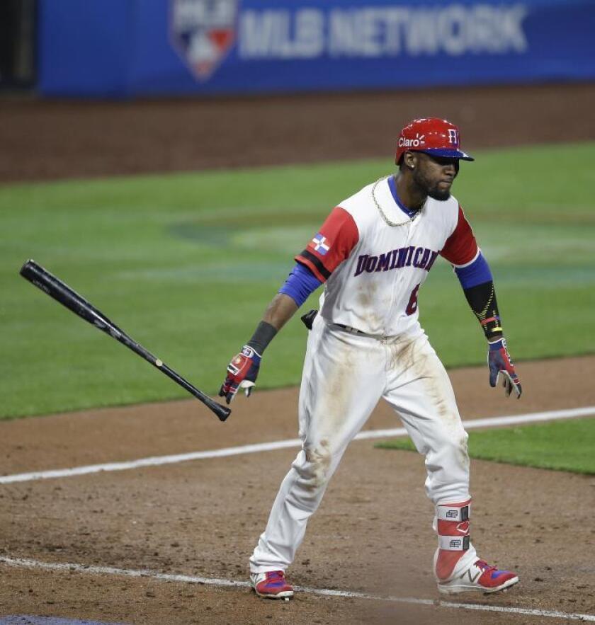 El jugador dominicano Starling Marte. EFE/Archivo