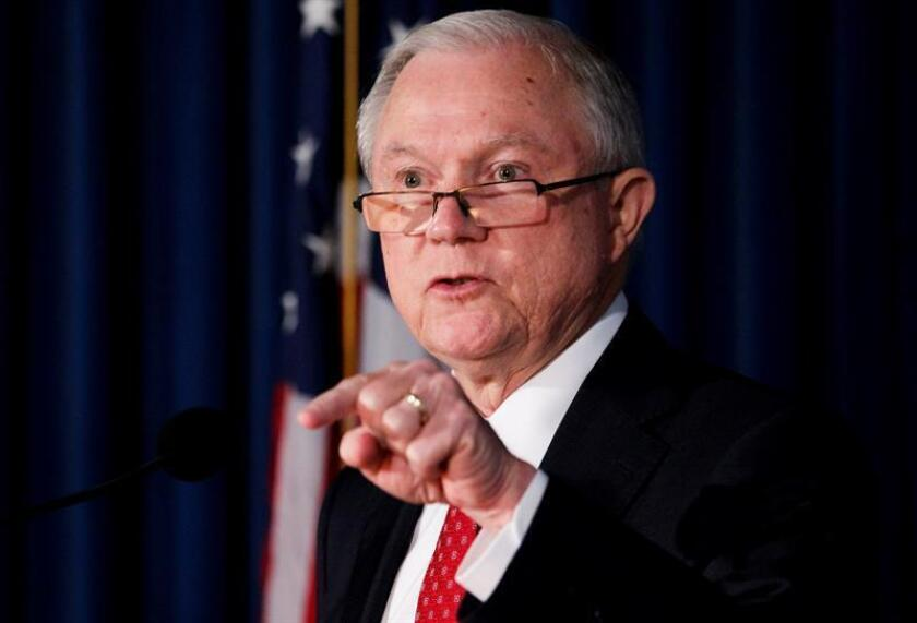 El fiscal general estadounidense, Jeff Sessions. EFE/Archivo