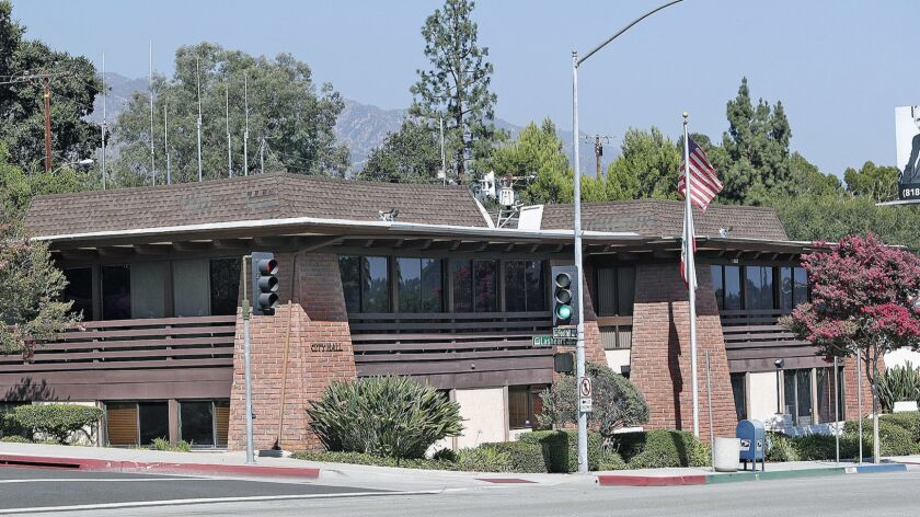 La Canada City Hall on Friday, August 3, 2018. City Hall will officially move in December.