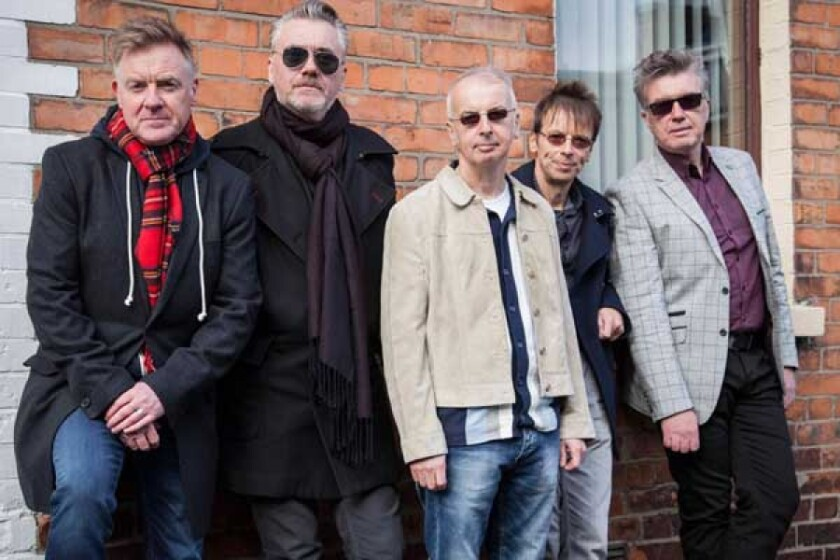The Undertones are on the road again, 20 years after reuniting following a 16-year hiatus. Four of the Irish punk-rock band's original five members are still in the lineup.