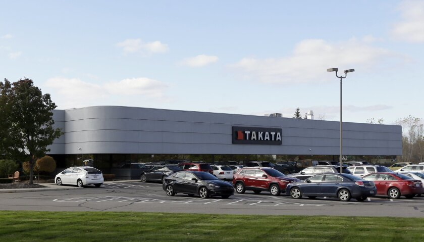 Air bags manufactured by the Takata Corp. are the subject of recalls by the National Highway Traffic Safety Administration. Another recall was announced Saturday.