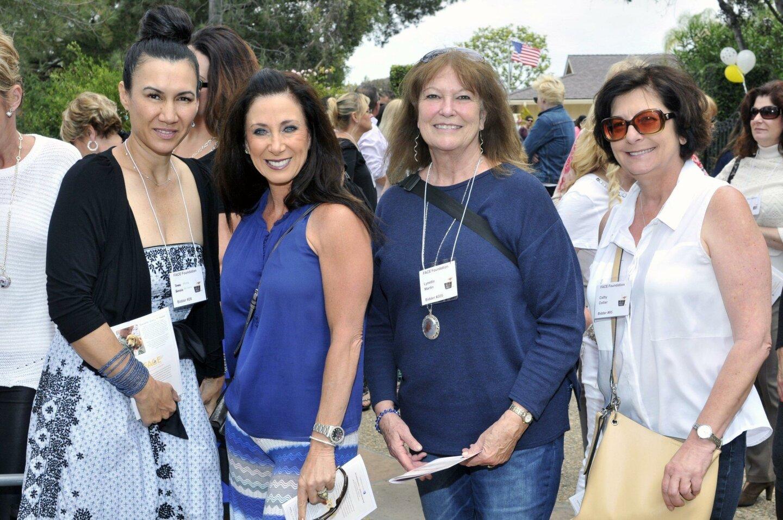 Mona Wilson, Sharon Sandorf, Lynette Martin, Cathy Collier