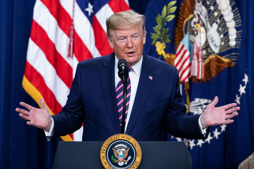 President Trump speaks at child care summit in Washington