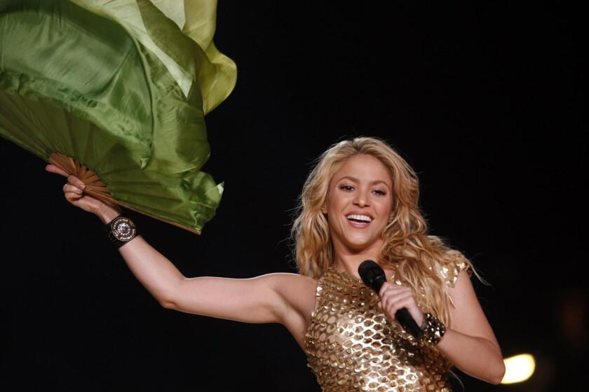 Number 9: Shakira