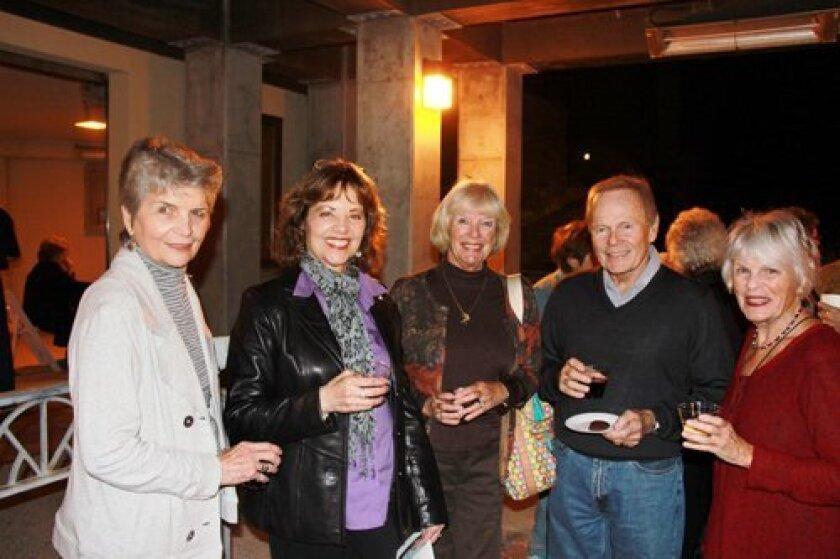 Pauline Lessman, Chris Lessman, Carol Steblay,June Gottleib