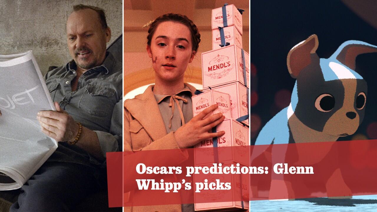 Oscars predictions: Glenn Whipp's picks
