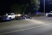 Suspected DUI driver crashes into 3 parked cars