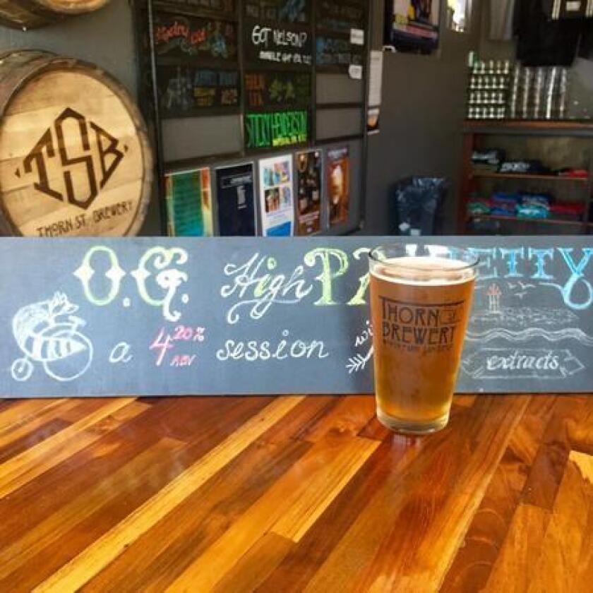 O.G. HighPA from Thorn Street Brewing Co. (Liz Bowen)