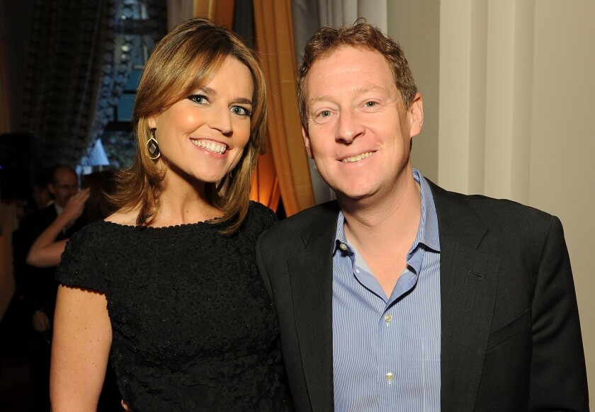 Savannah Guthrie Of Today Weds Mike Feldman She S Pregnant Too Los Angeles Times