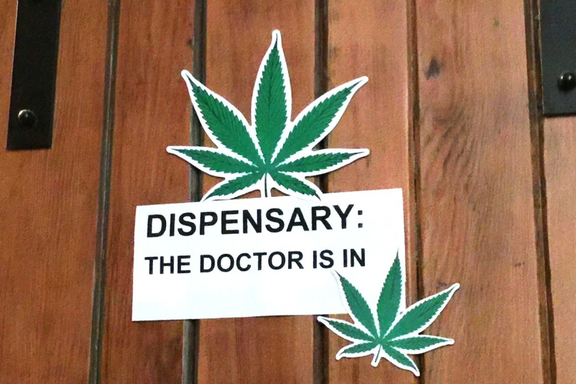 The event included an on-site dispensary as well as a doctor to issue the recommendations required under state law for medical marijuana patients to legally consume cannabis.